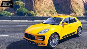 Porsche Macan Build - 2016 porsche macan turbo gta v 4k 60fps gtx 1080 2160p