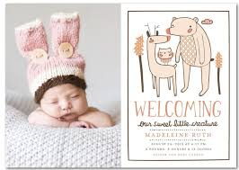 baby girl announcements rustic baby girl birth announcements rustic baby chic