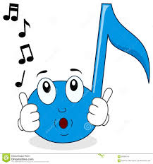 happy music note character whistling stock vector image 58080544