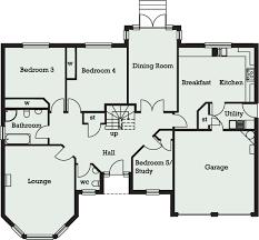 large bungalow house plans 5 bedroom bungalow house plans home plans ideas
