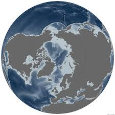 Antartica Map Polar Opposites The Arctic And Antarctic Noaa Climate Gov