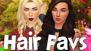 maxis match hairstyles the sims 4 favorites best hair cc finds