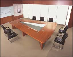 Wooden Boardroom Table Wooden Conference Table At Rs 45000 Set Boardroom Table
