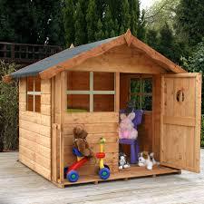 childrens wooden garden playhouses great kidkraft my woodland