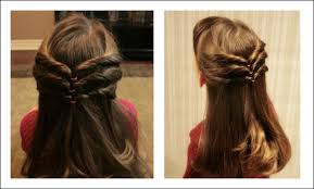 simple hairstyles with one elastic 20 cute hairstyle ideas for little girls