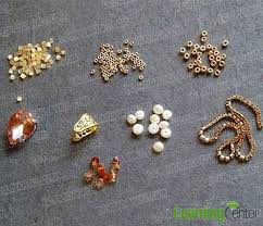 Tools Needed For Jewelry Making - how to make a golden heart shaped pendant necklace with beads for