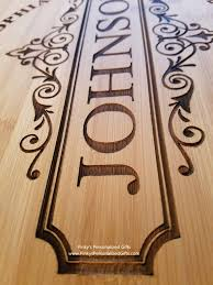 personalized photo cutting board large personalized cutting board design b s personalized