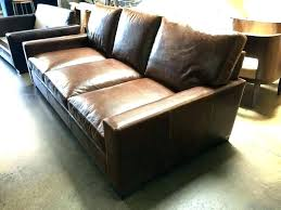 extra deep leather sofa deep cushion couch park terrace deep seating middle chair with