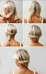 Frisuren Mittellange Haar Zum Selber Machen by Schnelle Frisuren Kurzes Haar Selber Machen Mode Frisuren