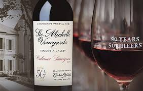 anniversary wine bottles chateau ste celebrates 50th anniversary with new wines