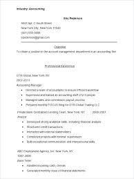 sample resume for accounting student resume sample accounting