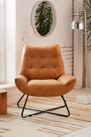 Leather Accent Chairs For Living Room Faux Leather Accent Chairs 1960s Leather Chair Recliner Chairs