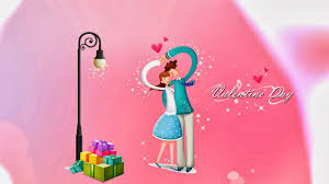 happy day couple hugging wallpaper