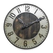 themed clock wall clocks alarm clocks radio clocks bed bath beyond