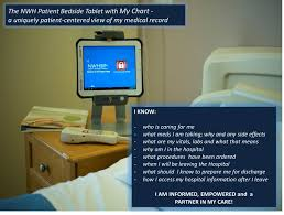 Bedside Charging Station Not Sure What Medical Chart Information To Share With Patients