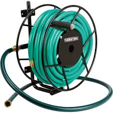 Wall Mounted Hose Reels Garden Metal by Ironton Wall Mount Garden Hose Reel U2014 Holds 5 8in X 100ft Hose
