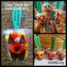 Kid Halloween Snacks Classroom Halloween Treats For Under 1 00 Each