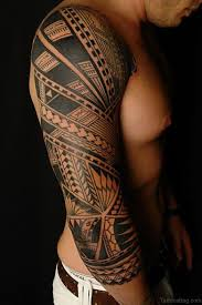53 graceful tribal tattoos on full sleeve