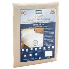 Bed Bug Crib Mattress Cover Zippered Vinyl Bed Bug Proof Hotel King Mattress Encasement
