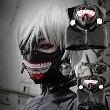 new halloween mask new tokyo ghoul kaneki ken adjustable masks cosplay mask halloween