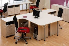 Modern Office Furniture Chairs Beautiful And New Red Chair At Modern Office Stock Photo Picture