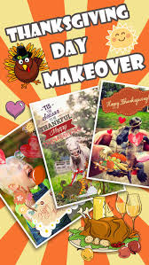 thanksgiving day makeover visage photo editor to swirl