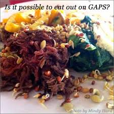 how to eat out while on gaps