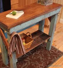 rustic kitchen island rustic diy kitchen island ideas