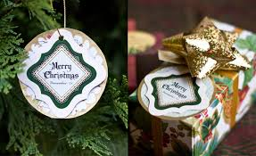 gift tag ornaments gift favor ideas from evermine