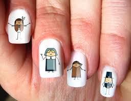 creative thanksgiving nail design ideas