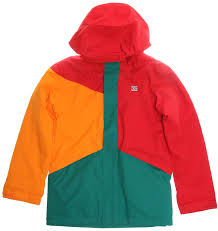on sale kids dc snowboard jackets girls boys youth