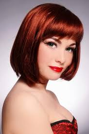 Bob Frisuren Mit Pony by Splendid Bob Frisur Mit Pony Ideas Cirsant Com