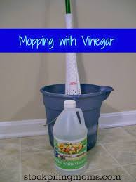Can I Use Vinegar To Clean Hardwood Floors - mopping with vinegar safe for all floor types