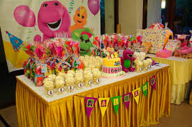 barney themed party ideas Liam s B day Party