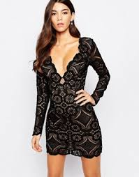 black lace dress lace dresses black white lace dress styles asos
