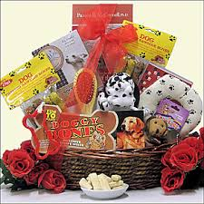 per gift basket pet gift baskets dog gift baskets