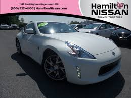 nissan altima coupe craigslist certified 2016 nissan 370z coupe for sale in hagerstown md