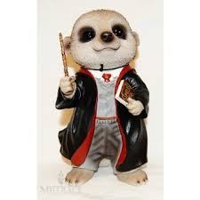 baby meerkat wizard ornament by arts ornaments statues
