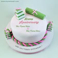 Wedding Wishes Online Editing Latest Wedding Anniversary Wishes Cake Picture With Name Wishes