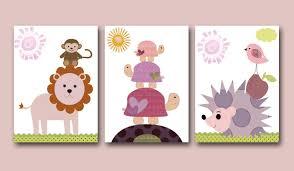Animal Wall Decor For Nursery Wall Home Interior Design Ideashome Interior Nursery
