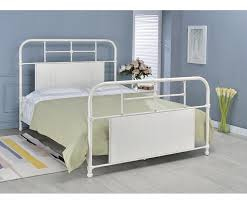 Antique White Metal Bed Frame Cheriton Metal Bed Size Antique White