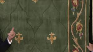 Royal Palace Rug Royal Palace Special Edition Fleur De Lis Wool Rug On Qvc Youtube