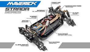 maverick strada mt 1 10 rtr electric monster truck mv12615