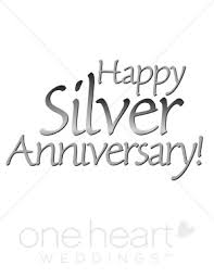25th Anniversary Wishes Silver Jubilee Happy 25th Anniversary Clipart Bbcpersian7 Collections