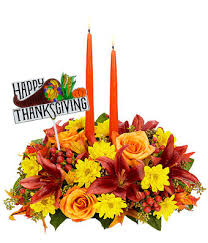 happy thanksgiving wishes centerpiece at from you flowers