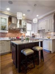 Two Colored Kitchen Cabinets Two Tone Kitchen Cabinets Black And White Dark Color Countertop
