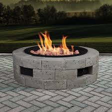 Firepit Insert Grand Resort 68581 Gas Pit Kit With 35x35 Insert Sears