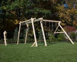 free standing swing set monkey bars u0026 turning bar