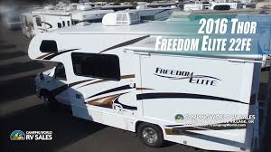 rv class c floor plans 2016 freedom elite 22fe 24 foot class c motor home by thor andy