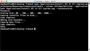 reset nvram yosemite terminal how to make a bootable os x 10 11 el capitan installer drive macworld